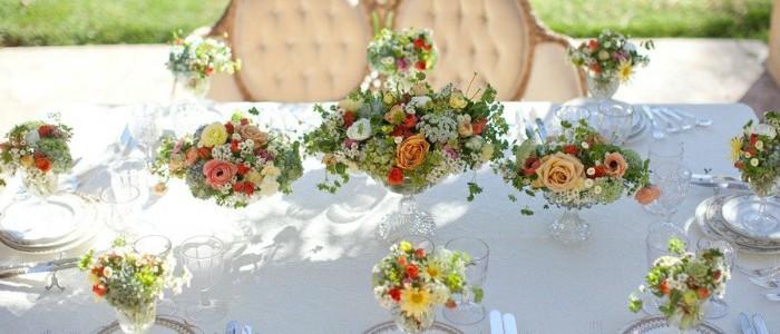 Fiori e decorazioni per matrimoni