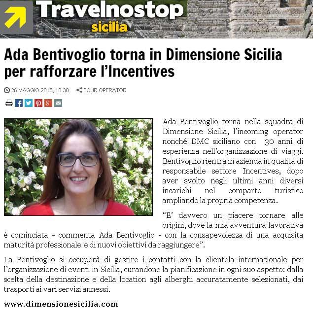 Dimensione Sicilia su Travelnostop del 26-05-15