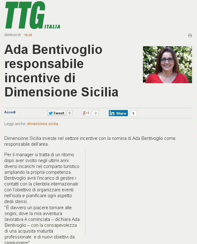 Dimensione Sicilia su TTG del 25-05-15