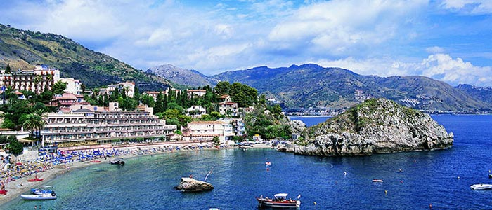 Incentive sicilia location isola bella