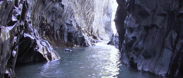 Tour naturalistico gole Alcantara