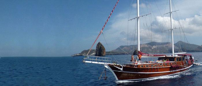 Kreuzfahrt im Gulet zu den Ägadischen Inseln