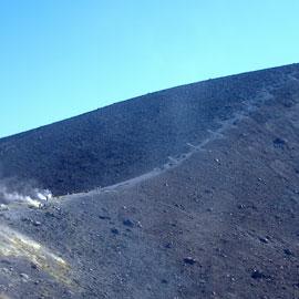 Восхождение к кратеру Стромболи