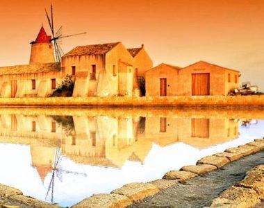 Tour Sicilia e Isole Eolie - Saline di Trapani